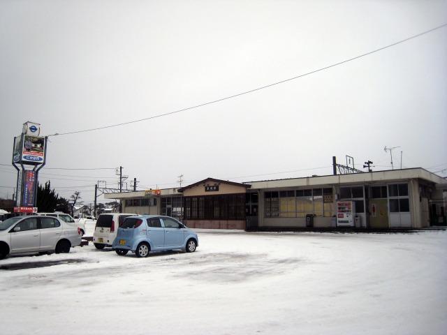 秋田県にかほ市 JR象潟駅