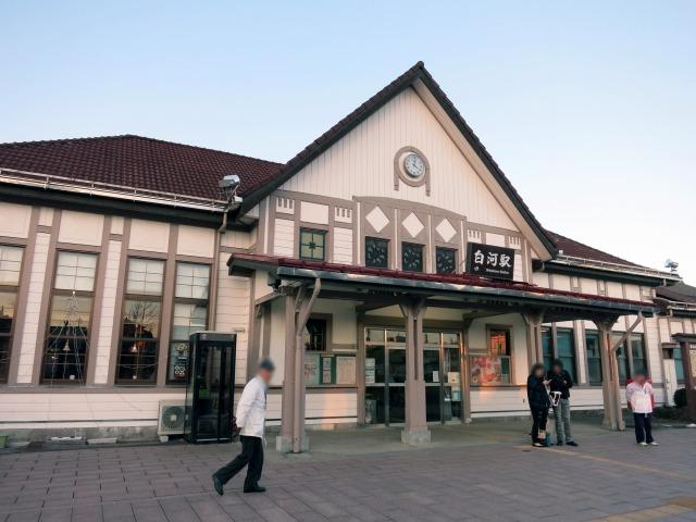 JR 東北本線 白河駅