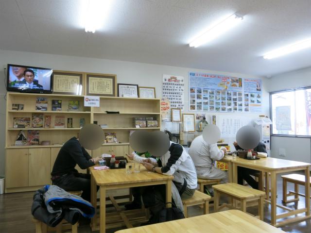 浪江焼麺太国アンテナショップ 店内の様子