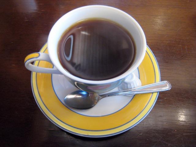 焼きうどんセット ホットコーヒー