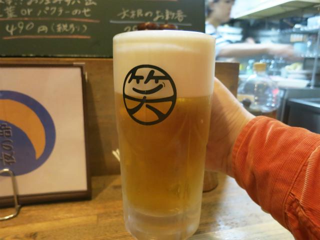 サッポロ生ビール黒ラベル<樽生> 490円