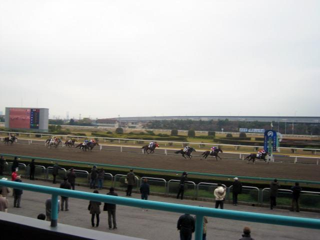 船橋競馬場にて