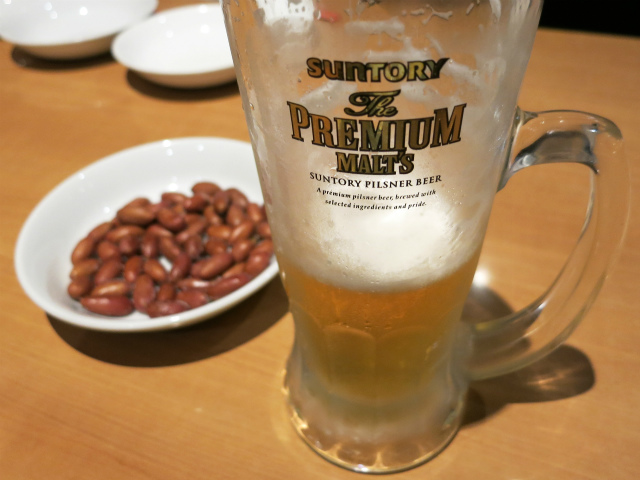 生ビール ほとんど飲んでしまった