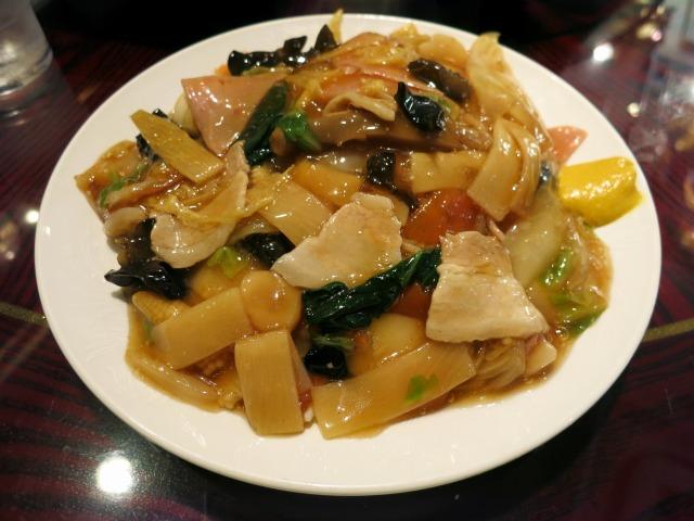 什錦炒麺・柔(八宝炒麺) 780円