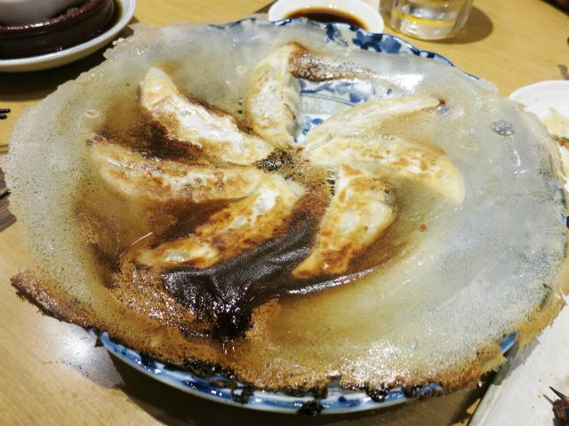 円盤焼き餃子 460円