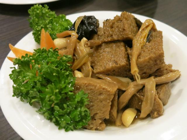 四喜烤麸(烤麩の煮物) 580円
