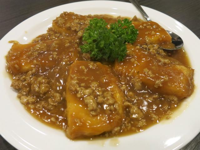 高格肉末一品豆腐(高格一品豆腐:挽肉) 880円