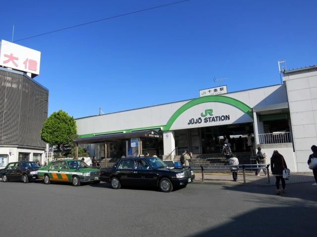 JR十条駅 北口ロータリー