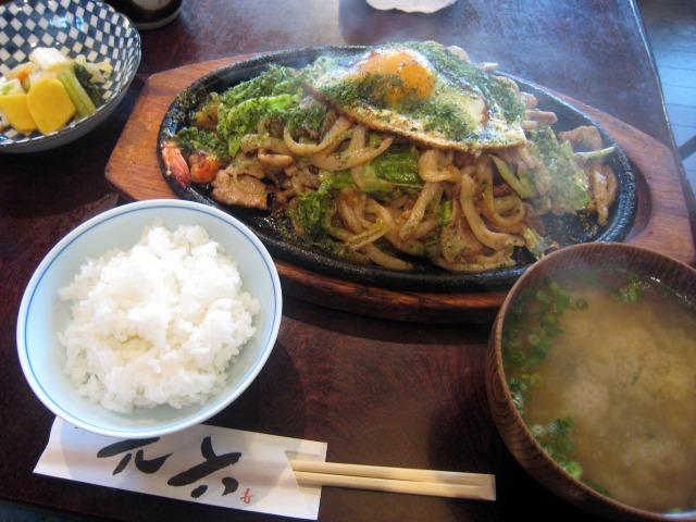 うどんやき定食 1000円