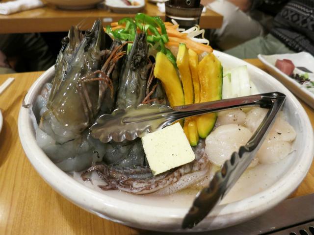 海鮮三種盛り