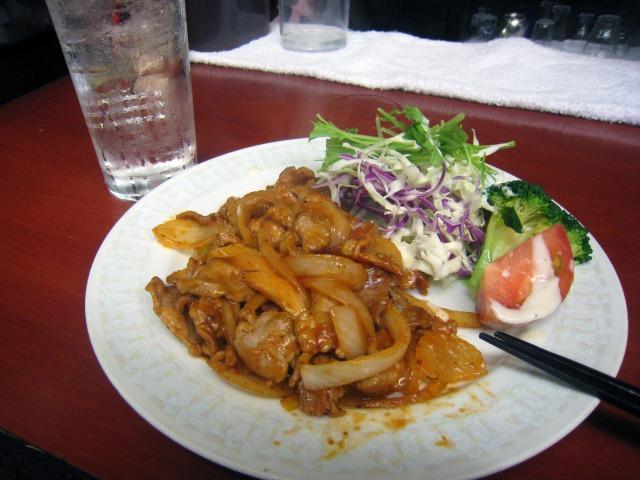 豚肉ケチャップ炒め 300円