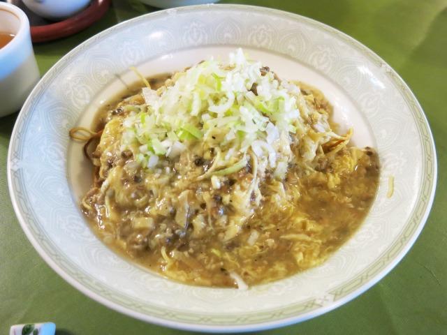 少子麺(四川風田舎やきそば) 単品だと1350円