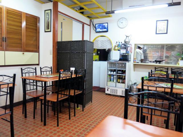 南インド料理マハラニ 店内の様子
