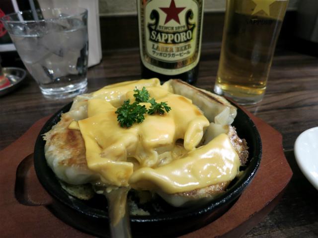 熱々鉄板焼チーズ餃子 530円
