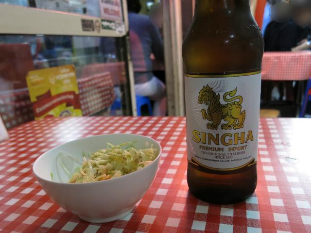 シンハービール 600円