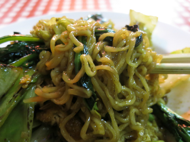 タイのインスタント麺=ママーを使用しています
