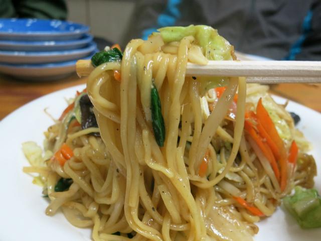 野菜炒め+麺の王道中華焼きそば