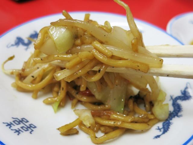 麺入り野菜炒め的、中華焼きそば