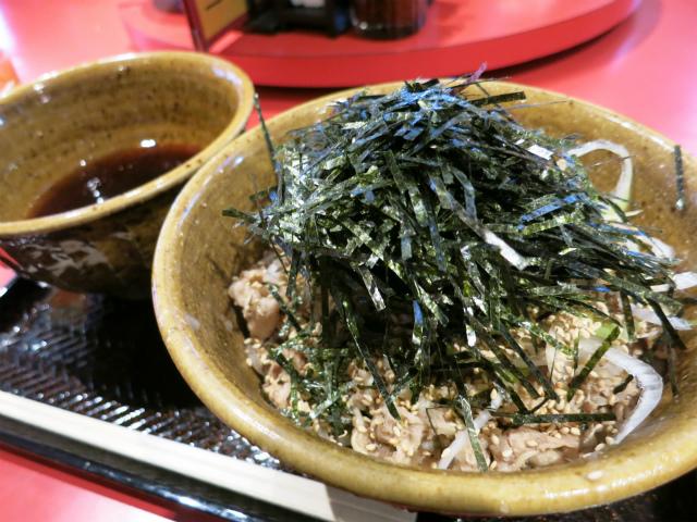 肉蕎麦 790円