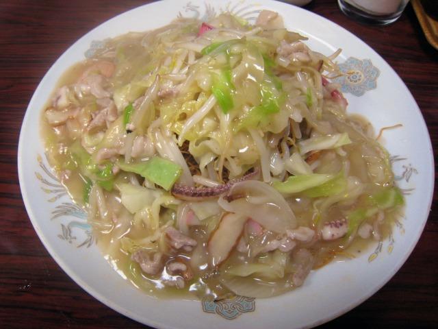 皿うどん(細めん) 850円
