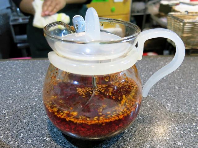 自家製ラー油、これを使った四川料理も食べてみたい