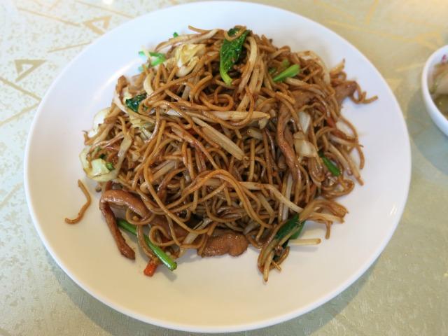 北京風焼きそば(北京炒麺) 1000円