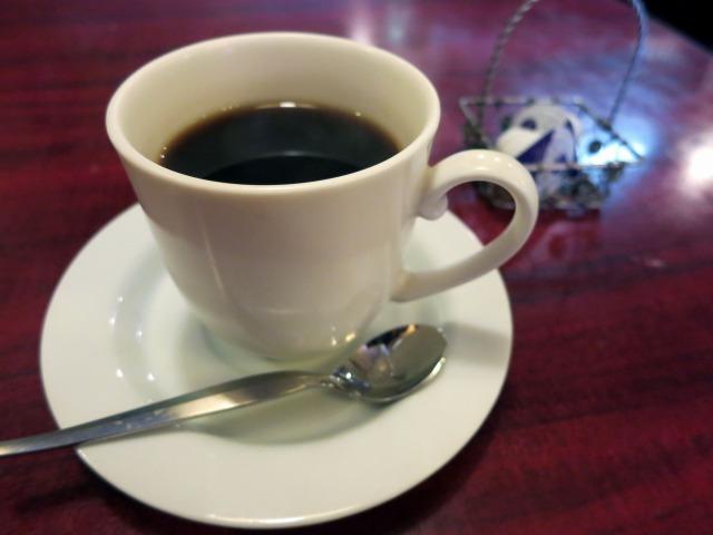 食後のコーヒー 100円
