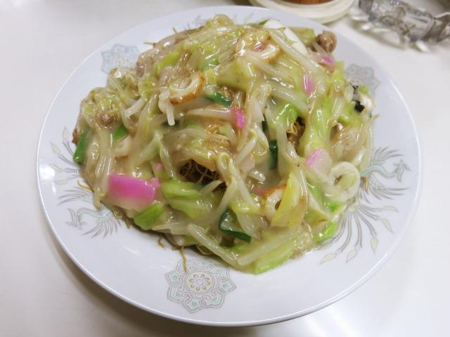 皿うどん 800円 (2015.10)