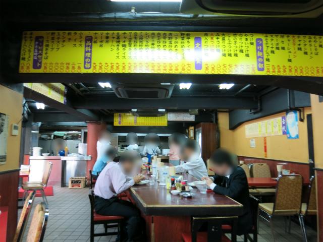 つけ麺大王 大崎店 店内の様子