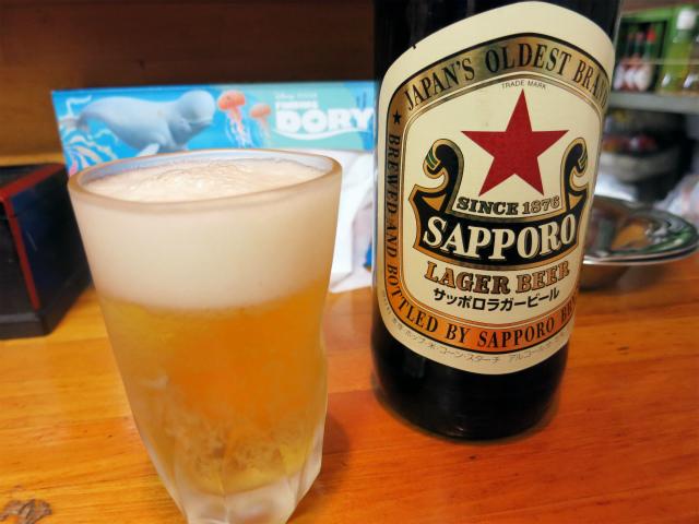 瓶ビール(大) 620円
