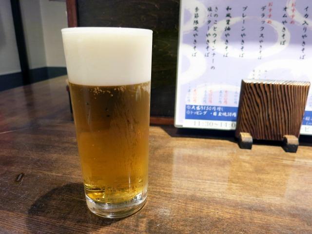 サッポロ生ビール 480円