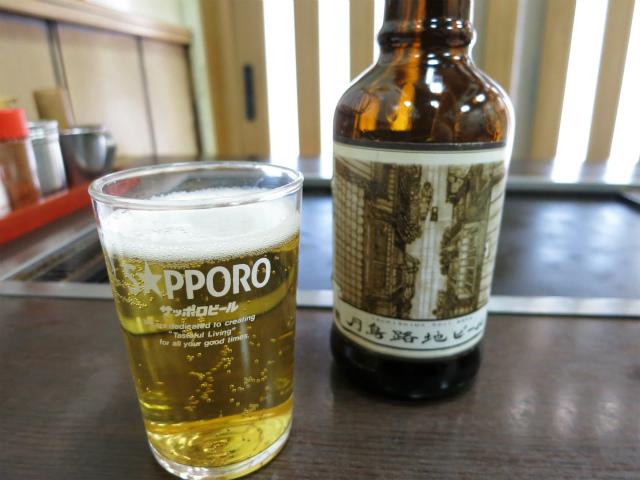 月島路地ビール 600円