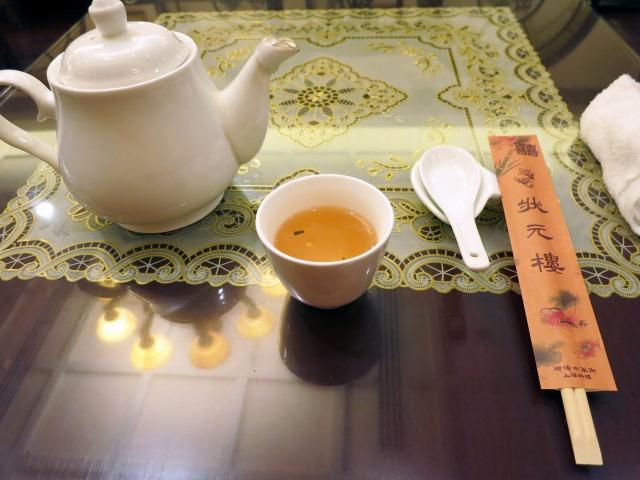 ジャスミン茶が美味しい