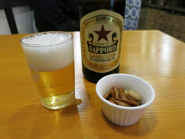 瓶ビール(中) 549円
