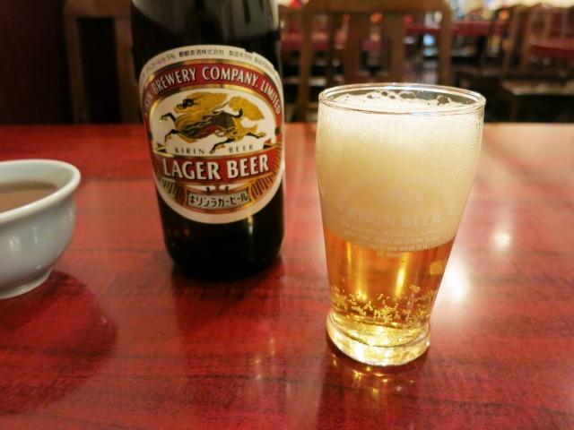 ビール中瓶 520円