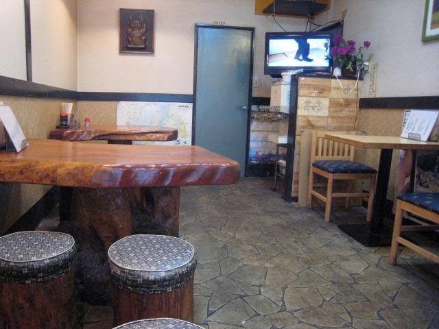 大竹食堂 店内の様子