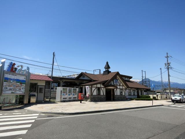 長野県 安曇野市 豊科駅