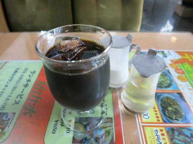 アイスコーヒー 410円
