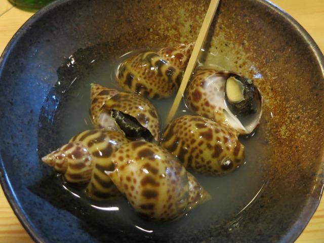 海つぼ バイ貝という名前の方が知られてますね