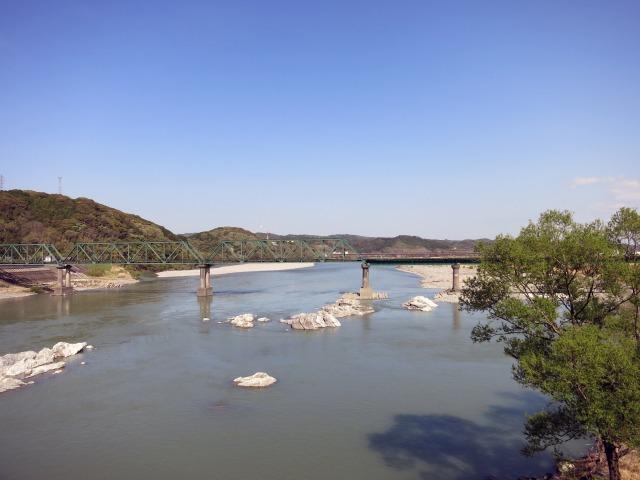 信州と太平洋を結ぶ天竜川