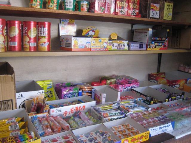 山口屋菓子店 店内の様子