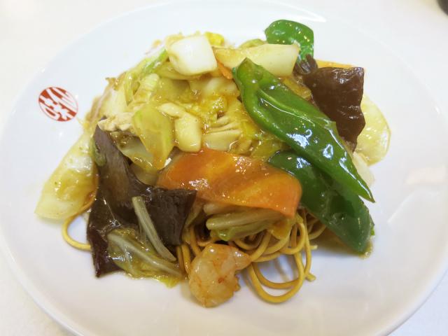 バリ焼そば(什錦炸麺) 800円