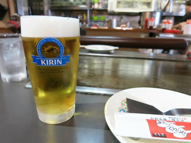 生ビール 小 400円