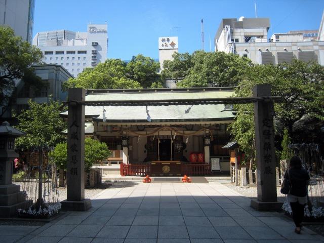 曽根崎・露天神社 通称、お初天神