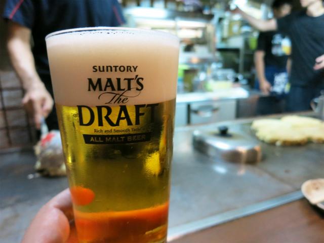 生ビール(モルツ) 450円