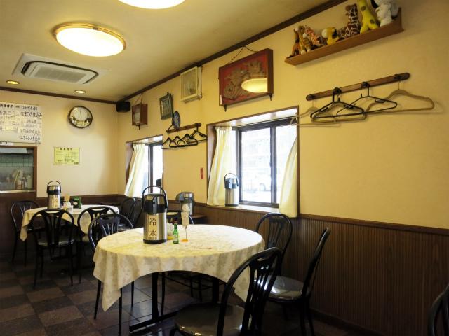 中華料理 麒麟 Kirin 店内の様子