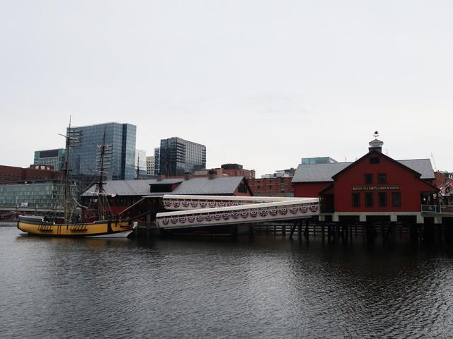 ボストン茶会事件の記念館