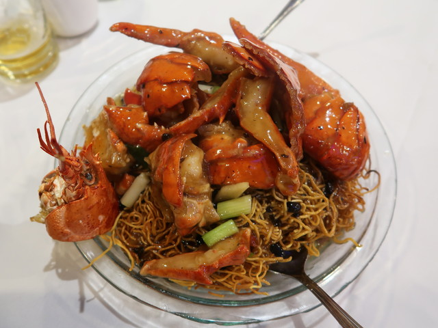 Lobster w/ Crispy Noodles