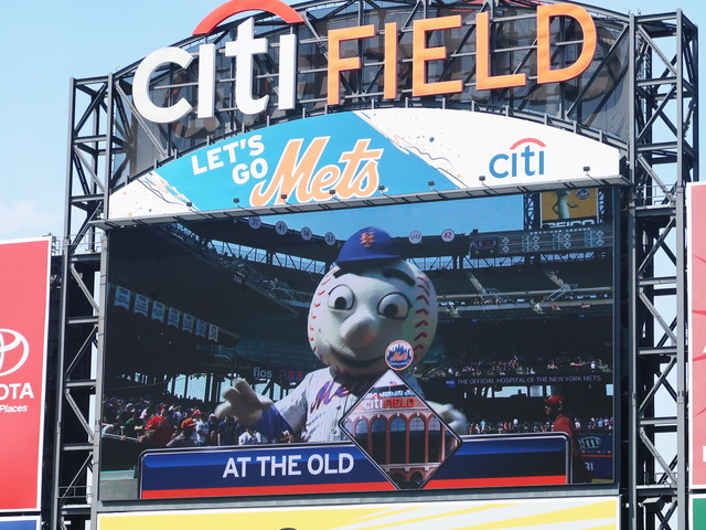 At the old Citi Field