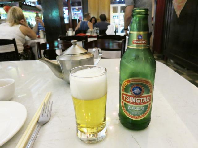 青島ビール $6.00